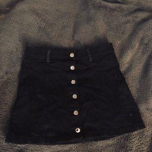Black Skirt (No Pockets)